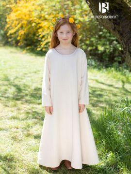 Kinderunterkleid Ylvi natur 128