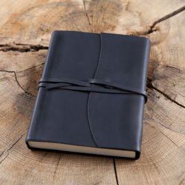 Tagebuch im Einband -schwarz- Mittel 12x17 cm