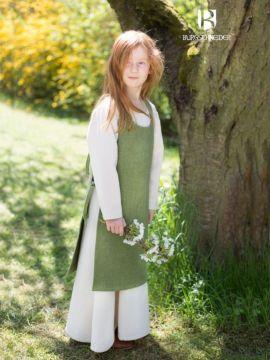 Kinderüberkleid Ylva lindgrün 128