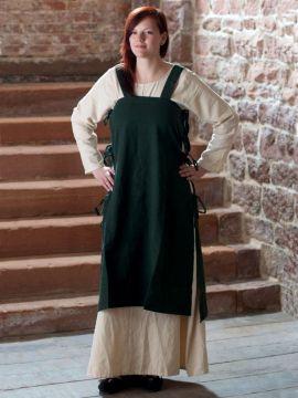 Überkleid Wikinger grün S/M