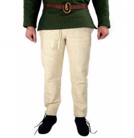 Mittelalterhose aus grober Baumwolle hanf XL