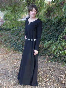 Schlichtes Unterkleid schwarz XS