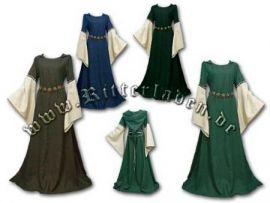 """Kleid """"Johanna"""" - mit oder ohne Kapuze bis 48"""
